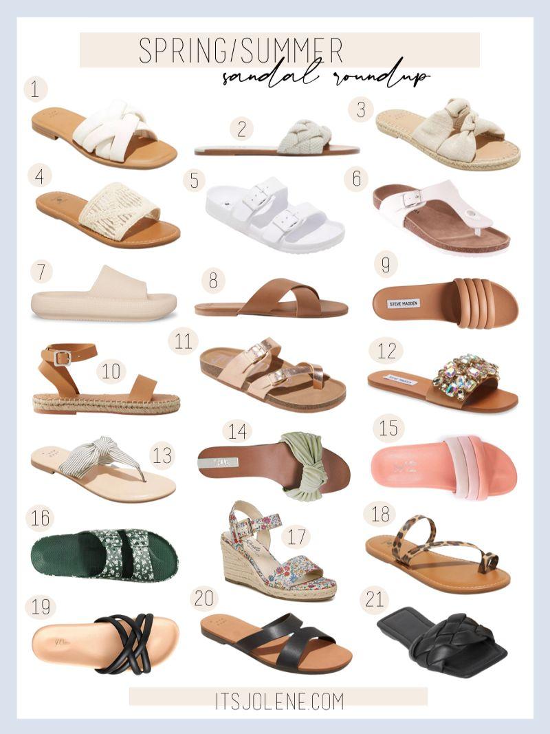 Spring/Summer Sandal Roundup