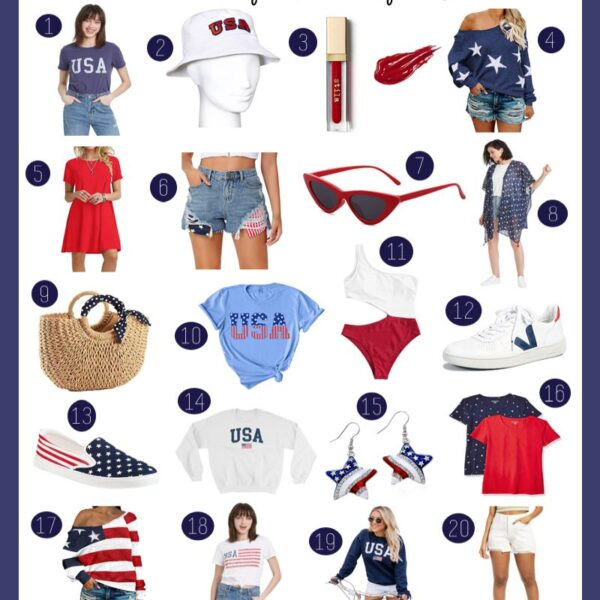 Fourth of July Fashion Finds