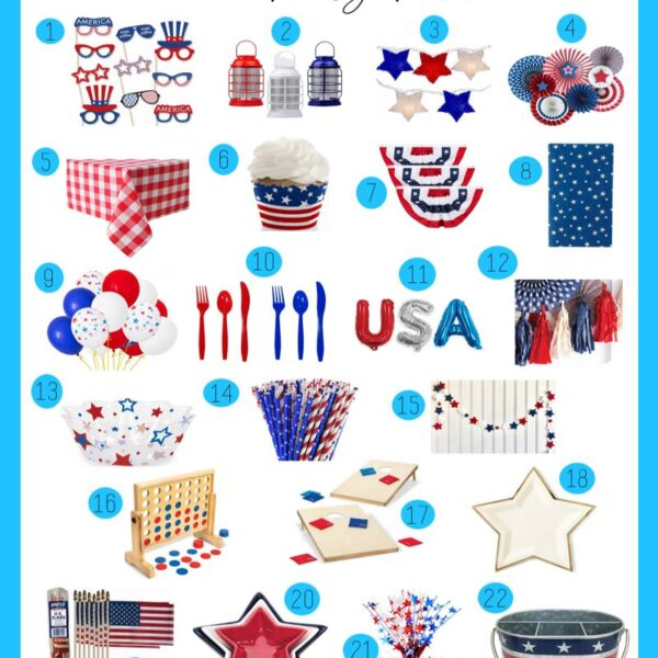 Fourth of July Party Picks